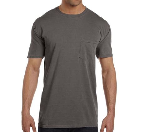 pepper comfort colors comfort colors comfort colors men s 6 1 oz pocket t shirt