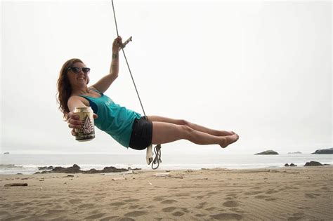rope swing gold coast too bad drinking a beer on a rope swing isn t an olympics