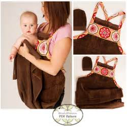 baby bathing towels baby bath apron towel and mitt pdf sewing pattern instant