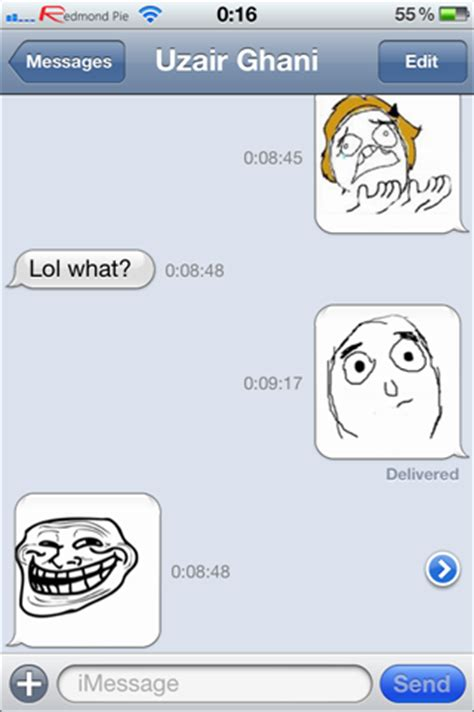 Meme Text App - image gallery iphone message meme