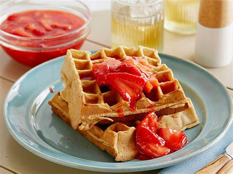 strawberry sauce recipe for waffles buttermilk waffles with strawberry sauce recipe