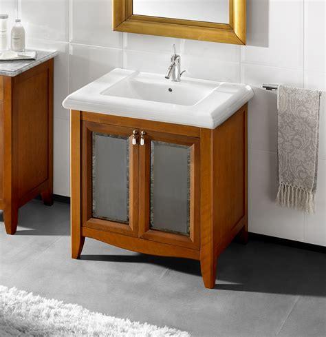mueble para lavabo mueble para lavabo de la colecci 243 n america de color cerezo