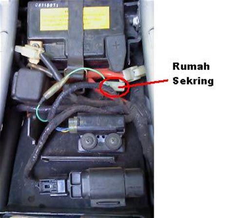 Fuse Holder Soket Sekering Rumah Sekering black vixioner fighter rpm meter vixion tidak stabil