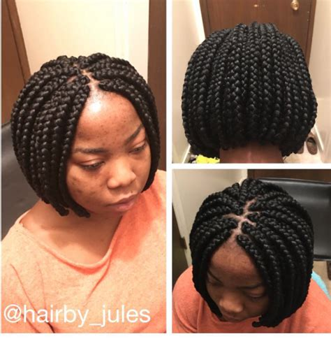 Bob Braid Hairstyles by Welcome To Jules Corner Bob Braids Hairstyle