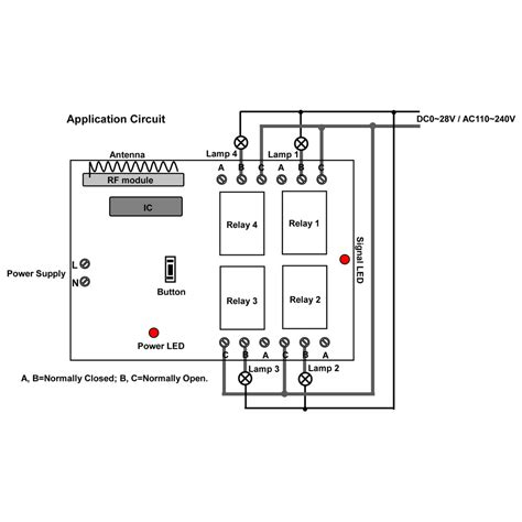 wifi receiver circuit diagram circuit and schematics diagram remote 4 ls by wireless range ac receiver transmitter carymart s official