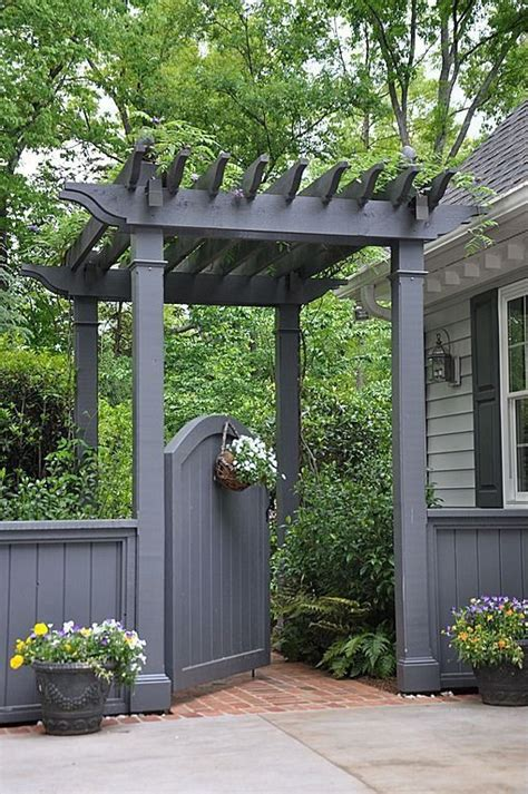 25 best ideas about fence paint colours on grey fence paint garden fence paint and