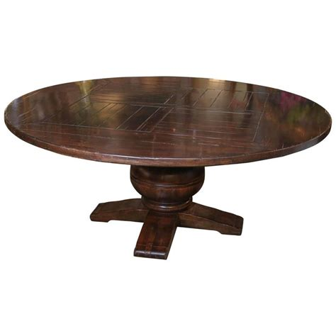 Distressed Finish Dining Table Large Dining Table With Distressed Finish In Pine For Sale At 1stdibs