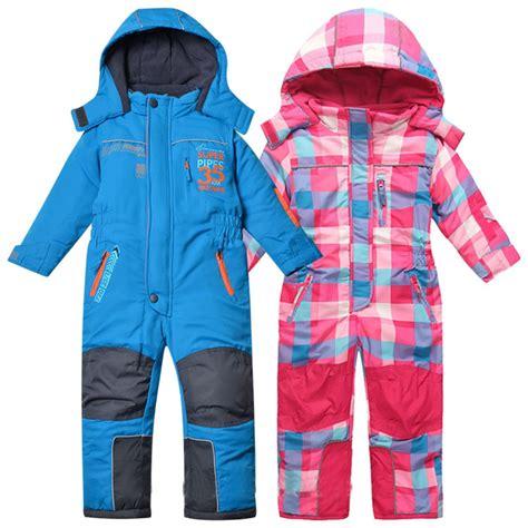 free shipping children autumn winter jumpsuit ski