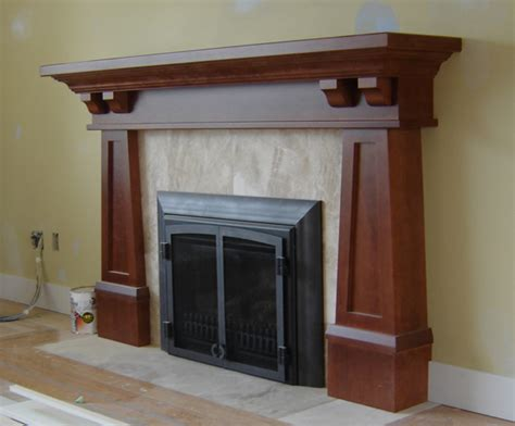 craftsman fireplace mantels arts and crafts mantels craftsman fireplace mantel