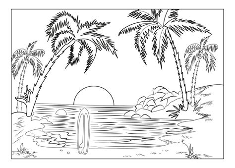 Landscape Coloring Page 16 Colorpagesforadults Coloring Pages Landscape Coloring Pages For Adults