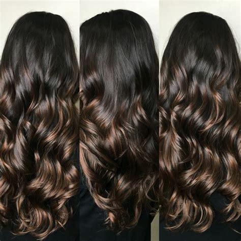 hair highlights for the spring with dark hair caramel highlights ideas for dark brown hair hair world