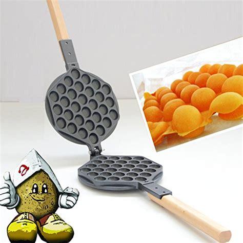 Cetakan Egg Waffle Egg Waffle Pan nonstick hongkong egg waffle pan waffle iron eggettes waffle mold buy in uae