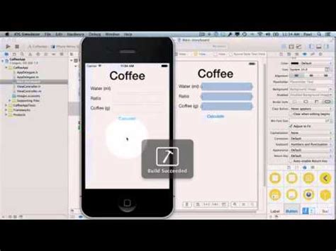 designing your first iphone app hack design create your first iphone app youtube