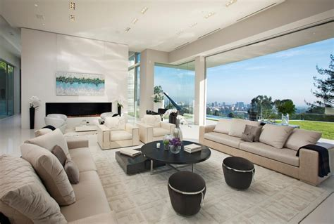 contemporary ls for the living room large modern home with lovely city views bel air los angeles architecture architecture design