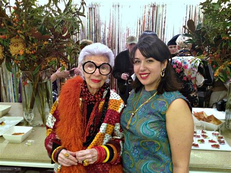 brie dyas accidental icon iris apfel on personal style