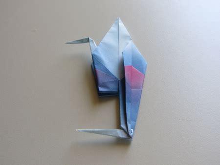 Origami Heron -