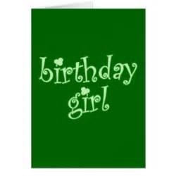 st patricks day birthday cards zazzle