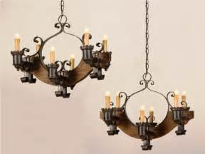 rustic chandeliers wrought iron rustic bronze wrought iron candle stick chandelier