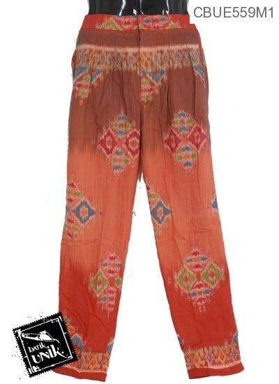 Celana Panjang Aladin Batik Cbm001 Murah celana aladin etnik motif songket celana murah