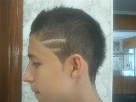 cortes de cabello con linea lineas corte de pelo imagui