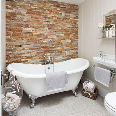 Redecorating Bathroom Ideas by Panelled Bathroom With Freestanding Bath Decorating