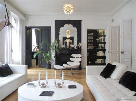 Deco Appartement Haussmannien by D 233 Co Moderne Haussmanien Deco Interieure Appartement