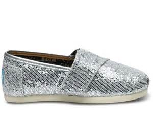 toms glitter shoes toms tiny glitter shoes silver shoes boots