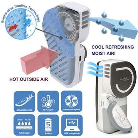 Ac Portable Handy Cooler chilled out contraptions the handy cooler personal air