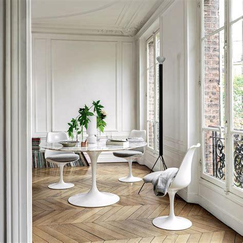 knoll saarinen dining table  palette parlor modern design