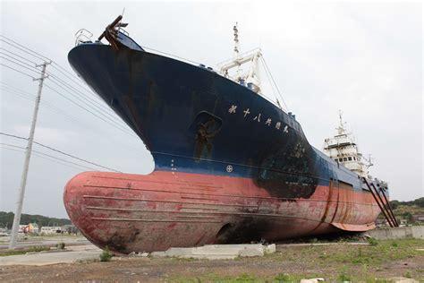 huge boat kesennuma big ship still there kristoffer hamilton