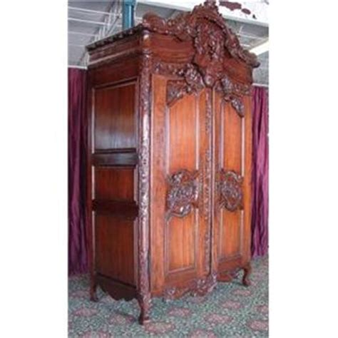 ornate armoire ornate french victorian tv cabinet armoire 1932858