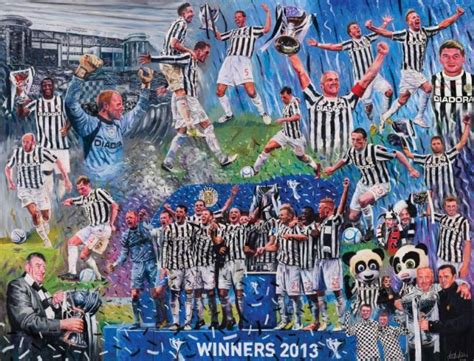 St Winner by St Mirren League Cup Winners 2013 Print