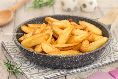 come cucinare le patate fritte patate fritte perfette in padella croccanti fuori e