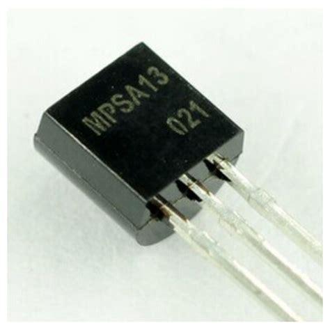 darlington transistor mpsa13 mpsa13 transistor darlington npn to 92 komposantselectronik