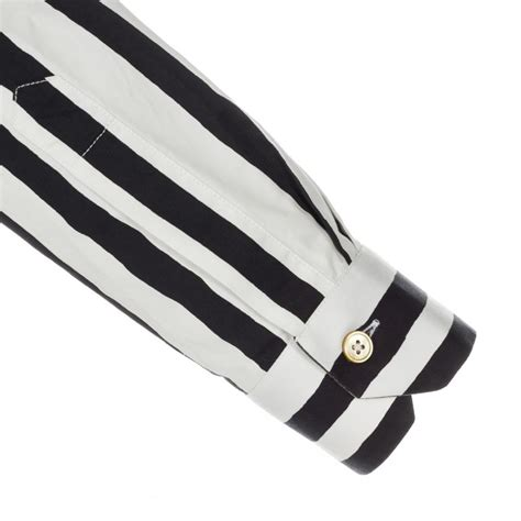 White Black Kets paul smith s slim fit black and white piano