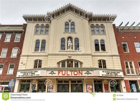 fulton opera house fulton opera house lancaster pennsylvania imagen de archivo editorial imagen 46155689