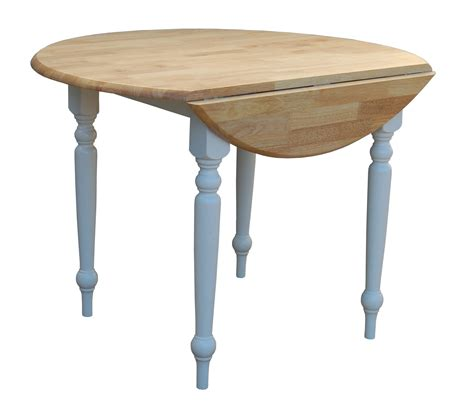Handcrafted Dining Room Tables by Round Drop Leaf Kitchen Table Kitchen Wallpaper