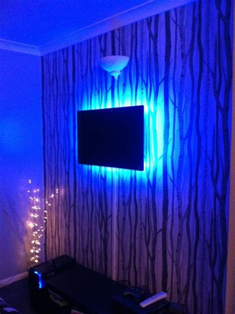 Light Up Your Tv Using Rgb Led Strips Instyle Led How To Set Up Led Light Strips