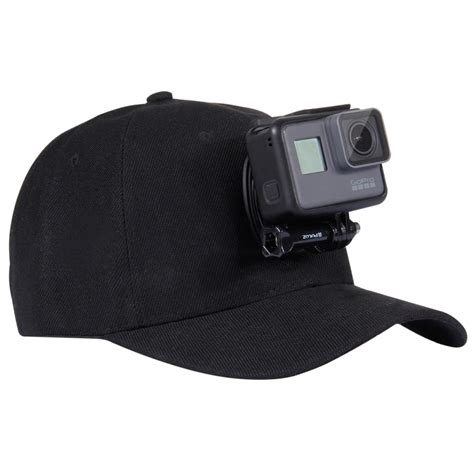 puluz baseball hat with j hook buckle mount for