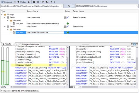 sql server compare two tables how to compare two tables data in sql server 2017