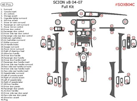 manual repair autos 2005 scion xb instrument cluster dark red carbon fiber car repair manuals and wiring diagrams