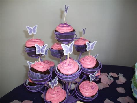 cj s pink and purple baby shower project nursery