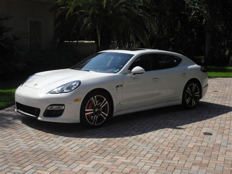 White Porsche Panamera Turbo by 2012 Porsche Panamera Turbo White Espresso Sport Design