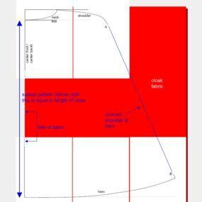 pattern variables a and b cloaks variables and cape pattern on pinterest