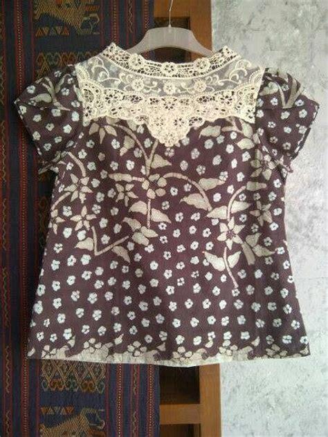 Sack Dress Biru 293 best images about klambi batik on day dresses batik blazer and kebaya