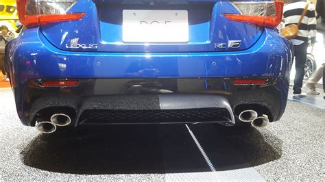 lexus rc f exhaust 2016 rc f exhaust tip lexus forums