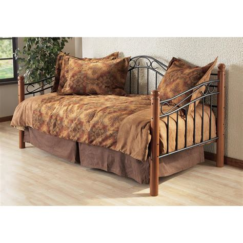 Day Bed Comforter Sets Hillsdale Furniture Winsloh Daybed With Trundle 117703 Bedroom Sets At Sportsman S Guide