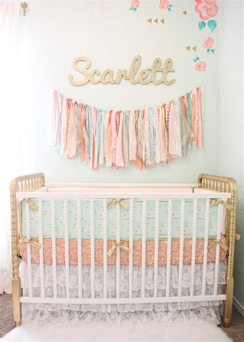 Can You Spray Paint A Baby Crib by Design Reveal Vintage Lace Nursery Project Nursery