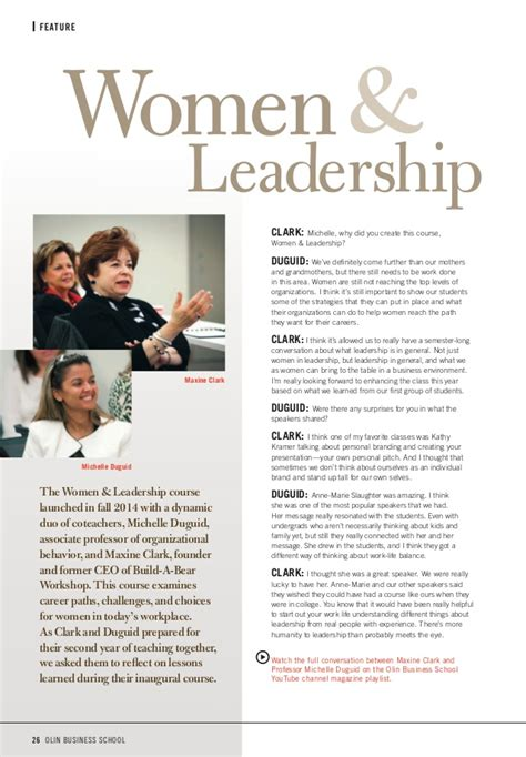 Olin Mba Waitlist Strategy by Olin Business School Magazine 2015