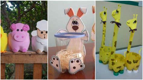 imagenes de fiestas infantiles sencillas convierte las botellas de pet en bellos dulceros para fiestas infantiles